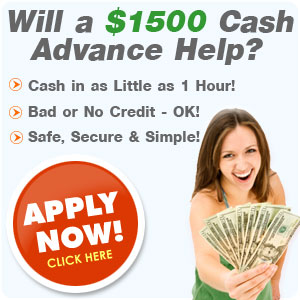 what do you need for a cash advance